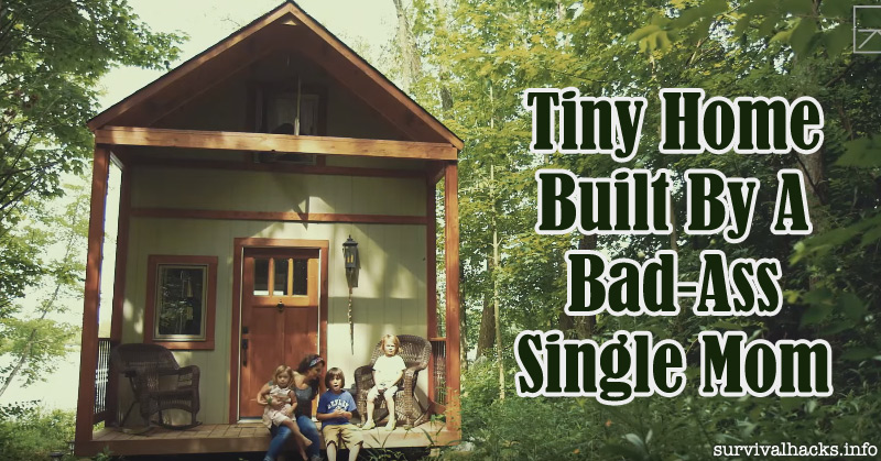 Check Out This Awesome Tiny Home Built By a Bad-Ass Single Mom