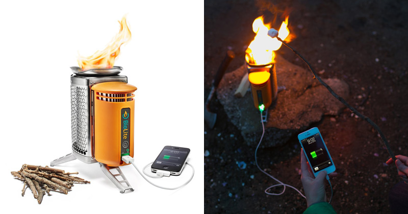 This Wood Burning CampStove Can Also Charge Your Phone