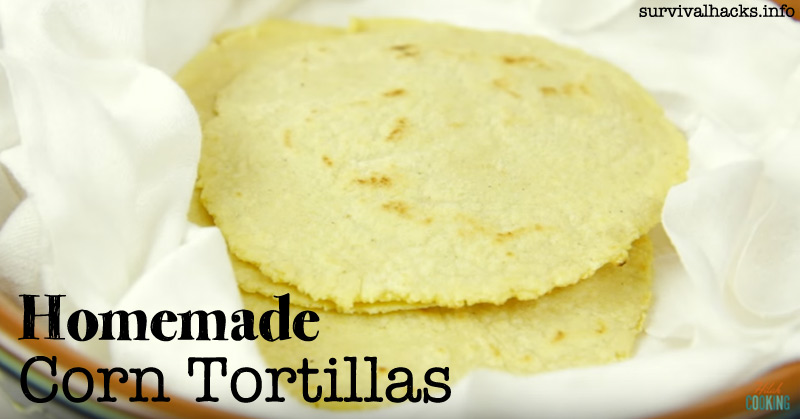 Homemade Corn Tortillas - Corn Tortilla Recipe Video