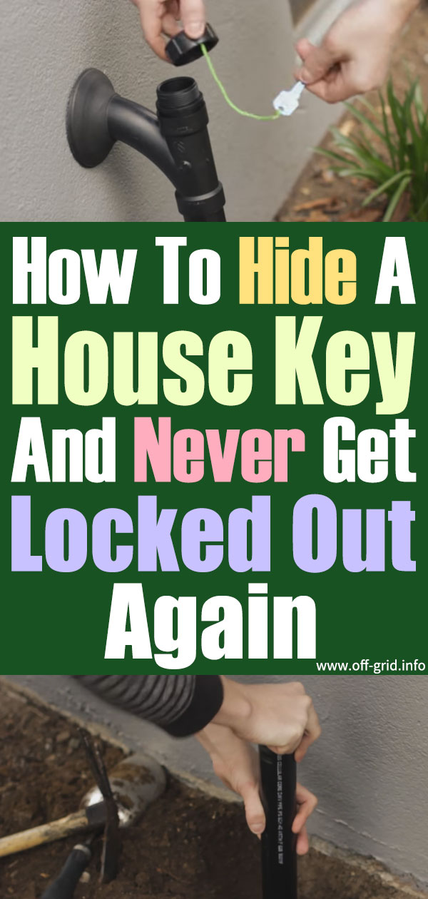 How To Hide A House Key And Never Get Locked Out Again