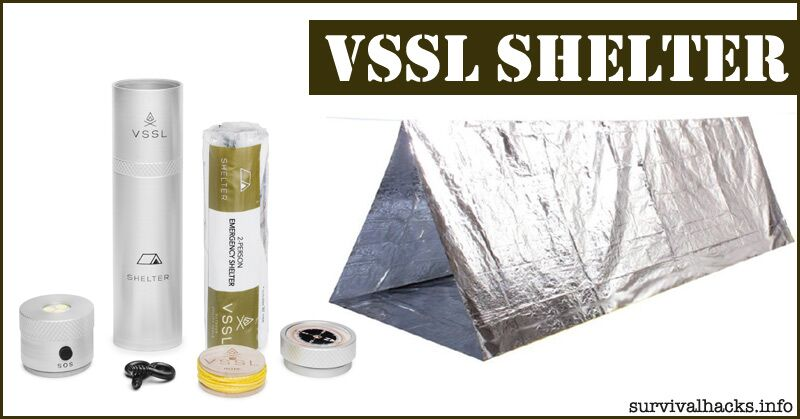 """This Awesome Survival Shelter Fits In A 9"""" Can"""