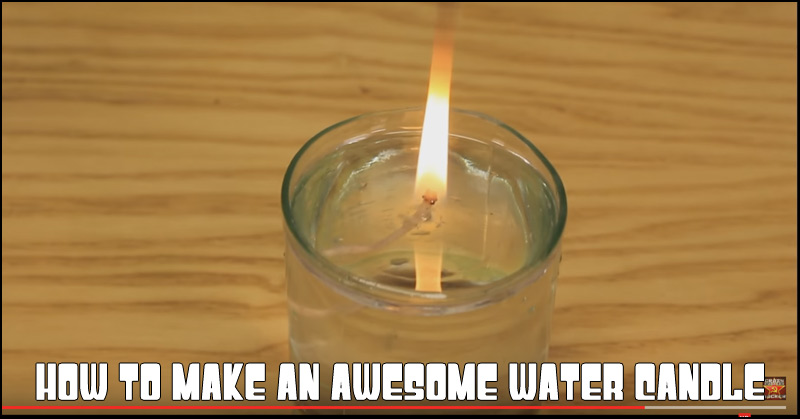 How To Make An Awesome Water Candle