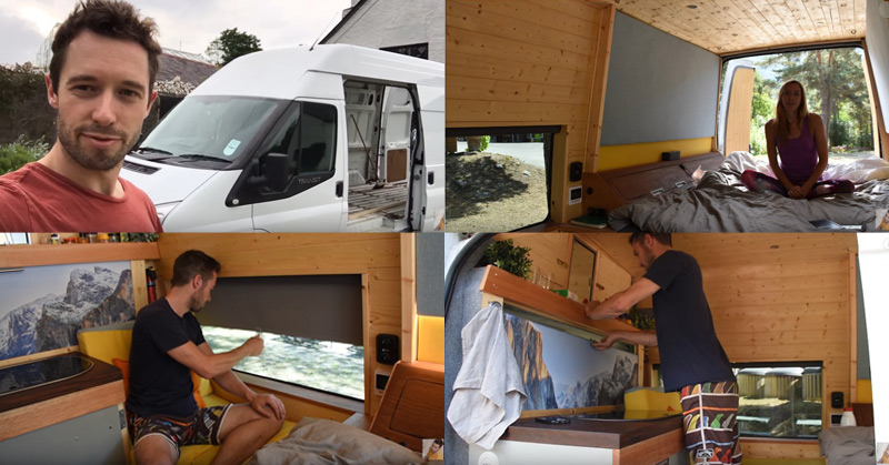 How To Convert A Van Into An Off-Grid Camper In 17 Days