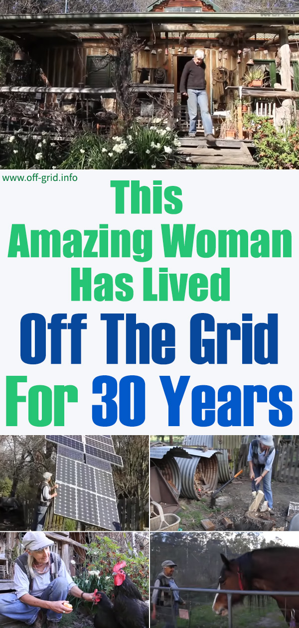 This Amazing Woman Has Lived Off The Grid For 30 Years