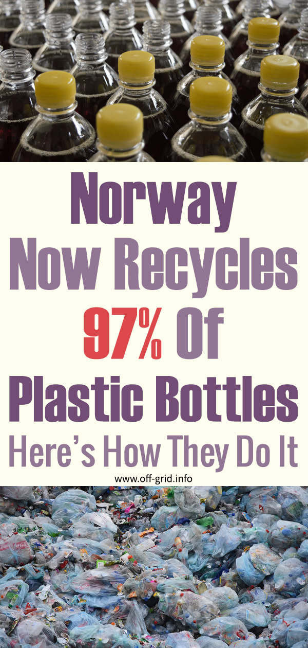 Norway Now Recycles 97% Of Plastic Bottles - Here's How They Do It
