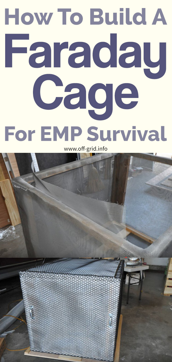 How To Build A Faraday Cage For EMP Survival