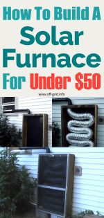 How To Build A Solar Furnace For Under 50 Dollars