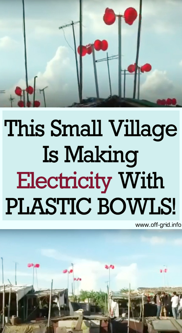This Small Village Is Making Electricity From Plastic Bowls