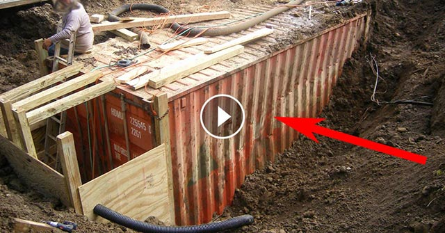 shipping container video