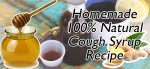 100% Natural Homemade Cough Syrup Recipe