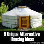 Top 9 Unique Alternative Housing Ideas