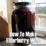How To Make Elderberry Wine