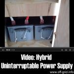 Video: Hybrid Uninterruptable Power Supply