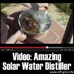 Video: Amazing Solar Water Distiller