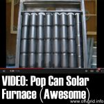VIDEO: Pop Can Solar Heater (Awesome)