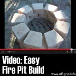 Video: Easy Fire Pit Build