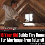 16 Year Old Builds Tiny Home For Mortgage-Free Future!!