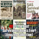 40 Of The Best Survivalism Books Ever (Amazing Collection)