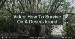 Video: How To Survive On A Desert Island