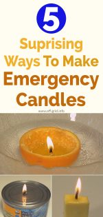 5 Surprising Ways To Make Emergency Candles
